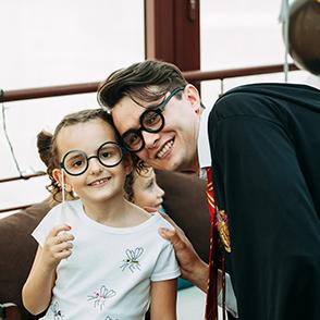 организация детского праздника Киев по сценарию Гарри Поттер